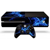 Xbox One Skin - Blue Energy