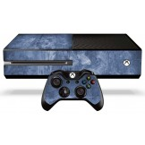 Xbox One Skin - Blue Metal