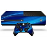 Xbox One Skin - Blue Wave