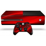 Xbox One Skin - Red Wave
