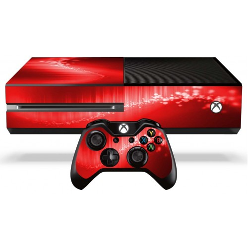 Xbox One Red Xbox One Skin - Red En...