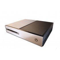 Xbox One Skin - Brushed Aluminium Premium